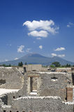 Ruins at Pompeii, Italy Royalty Free Stock Photography