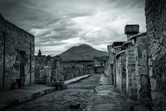 Ruins of Pompeii Italy Royalty Free Stock Photography