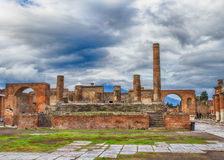 Ruins of Pompeii Italy Royalty Free Stock Images