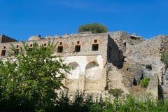 Ruins of Pompeii. Italy. Stock Photo