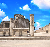 Ruins of Pompeii, Italy Stock Photo