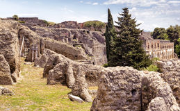 Ruins of Pompeii, Italy Stock Photos