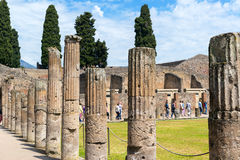 Ruins of Pompeii, Italy Stock Images