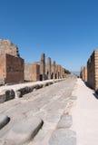 The ruins of Pompeii, Italy Royalty Free Stock Photo