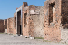 The ruins of Pompeii, Italy Stock Photography
