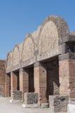 The ruins of Pompeii, Italy Stock Photo
