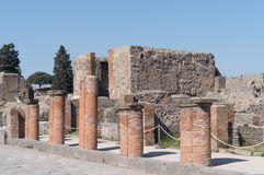 The ruins of Pompeii, Italy Royalty Free Stock Photography