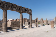 The ruins of Pompeii, Italy Royalty Free Stock Images