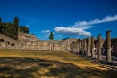Ruins of Pompeii - Naples Province,Campania, Italy. Ruins of Pompeii - Pompei, Province of Naples, Campania, Italy, Europe stock photos