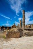 Ruins of Pompeii - Naples Province,Campania, Italy. Ruins of Pompeii - Pompei, Province of Naples, Campania, Italy, Europe royalty free stock photo