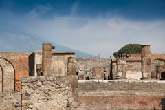 Ruins in Pompeii Royalty Free Stock Photo