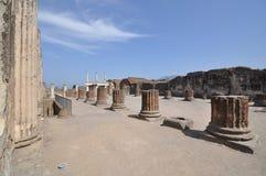 Ruins of Pompeii. Royalty Free Stock Photo