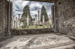 Ruins of Pompeii town,  Italy Royalty Free Stock Image