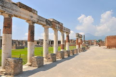 Ruins at Pompey, Italy Stock Image