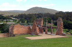 Port Arthur ruins Royalty Free Stock Photography