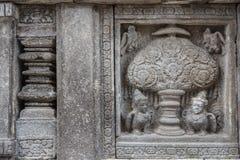 Ruins of Prambanan temple complex, Java island Stock Photo
