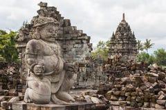 Ruins of Prambanan temple complex, Java island Royalty Free Stock Photos