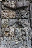 Ruins of Prambanan temple complex, Java island Stock Image