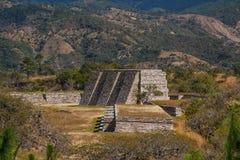 Ruins of the pre-hispanic & x28;pre-Colombian& x29; town Mixco Viejo. Guatemala Royalty Free Stock Photography