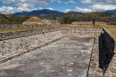 Ruins of the pre-hispanic & x28;pre-Colombian& x29; town Mixco Viejo. Guatemala Stock Photography
