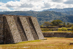 Ruins of the pre-hispanic & x28;pre-Colombian& x29; town Mixco Viejo. Guatemala Stock Photo