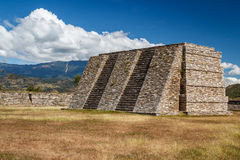 Ruins of the pre-hispanic & x28;pre-Colombian& x29; town Mixco Viejo Royalty Free Stock Photography