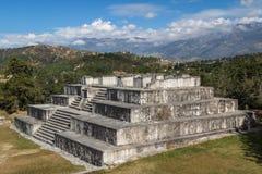 Ruins of the pre-Hispanic & x28;pre-Colombian& x29; town Zaculeu Stock Photos