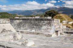 Ruins of the pre-Hispanic & x28;pre-Colombian& x29; town Zaculeu Royalty Free Stock Image
