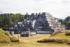 Ruins of the pre-Hispanic & x28;pre-Colombian& x29; town Zaculeu Stock Photography