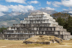 Ruins of the pre-Hispanic & x28;pre-Colombian& x29; town Zaculeu Stock Images