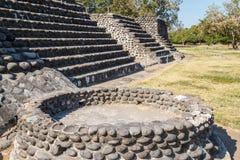 Ruins of the pre-Hispanic town Zempoala & x28;Cempoala& x29;, Veracruz Stock Image