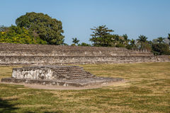 Ruins of the pre-Hispanic town Zempoala & x28;Cempoala& x29;, Veracruz Stock Photography