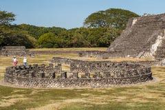 Ruins of the pre-Hispanic town Zempoala & x28;Cempoala& x29;, Veracruz Royalty Free Stock Images