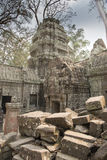 Ruins of Preah Khan, Angkor Thom, Cambodia Stock Photo