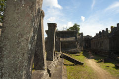 Ruins on Preah Vihear Temple Royalty Free Stock Images
