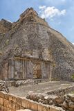 Ruins of the prehispanic town of Uxmal, a Unesco World Heritage Stock Photography