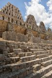 Ruins of the prehispanic town of Uxmal Royalty Free Stock Images