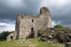 Ruins of Primda castle Stock Photos