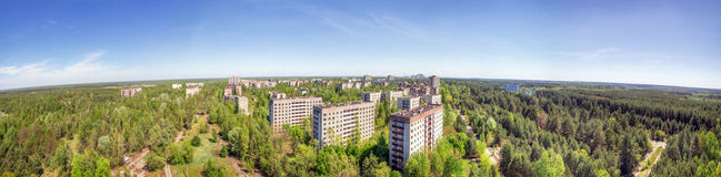 The Ruins of Pripyat and Chernobyl Royalty Free Stock Photos