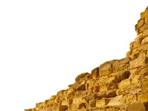 Ruins of the pyramid Royalty Free Stock Photography