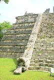 The pyramid at Chichen Itza, Mexico Stock Images