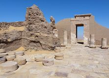 Ruins at Qasr Dusch Royalty Free Stock Images