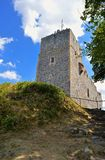 The ruins of the RadynÄ› castle. stock images