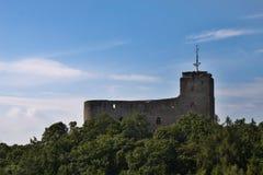 Ruins of Radyne Castle, Czech Republic Stock Photography