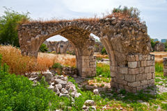 Ruins in Ramle Israel Stock Photography