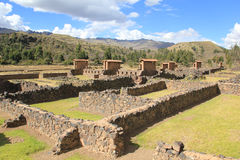 Ruins of Raqch'i, Peru Stock Photography