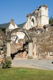 Ruins of the Recoleccion church at Antigua Stock Image
