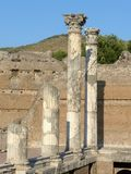 The ancient remains of a Roman city of Lazio - Italy 011 Stock Photo
