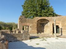 The ancient remains of a Roman city of Lazio - Italy 0153 Royalty Free Stock Image