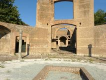 The ancient remains of a Roman city of Lazio - Italy 157 Stock Photos